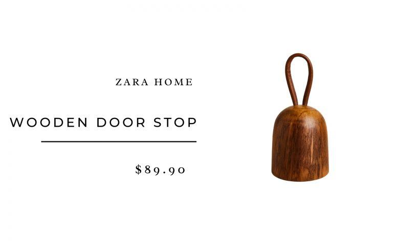 Zara Home Wooden Door Stop