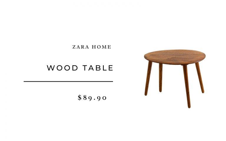 Zara Home Wood Table