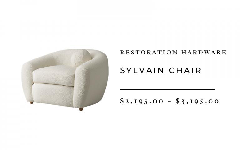 RH Modern Sylvain Chair