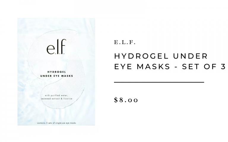 e.l.f. hyrdrogel under eye masks