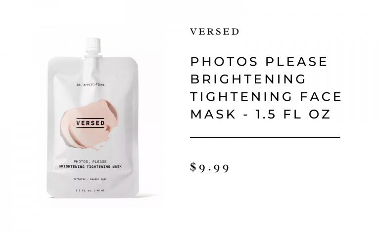 Versed Tightening Face Mask