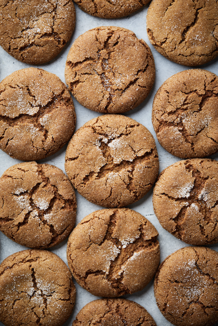 Olive & Mango Ginger Flavored Molasses Biscuits