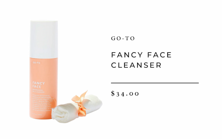 Go-To Hautpflege Fancy Face Cleanser