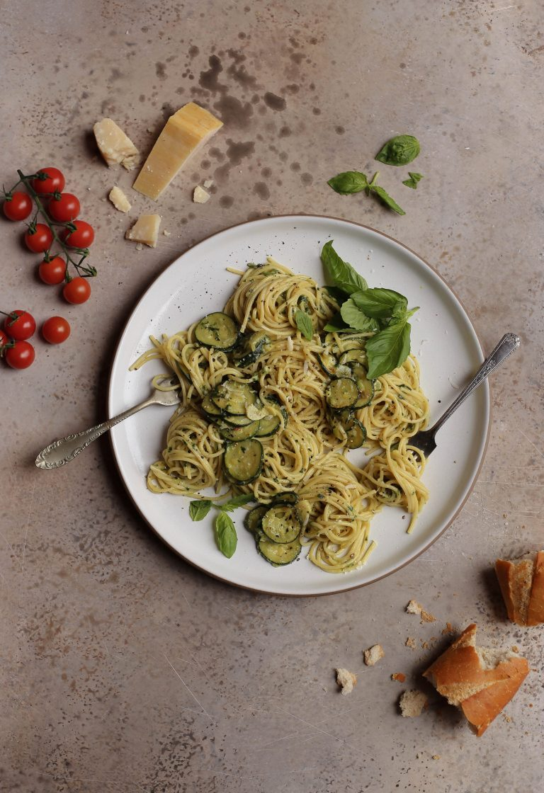spaghetti alla nerano | zucchini pasta