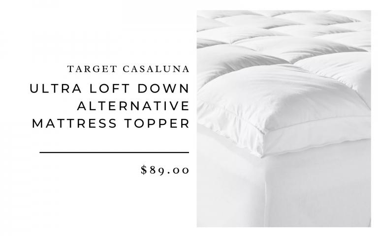 Target Casaluna Ultra Loft Down Alternative Mattress Topper