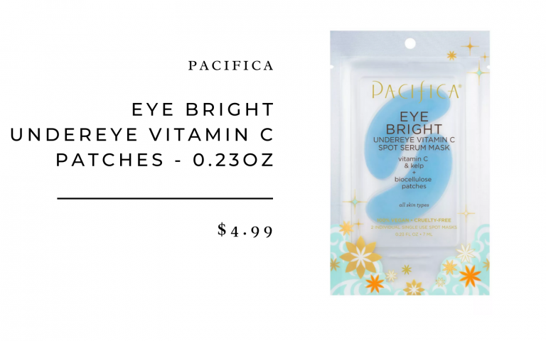 Pacifica Eye Bright Undereye Vitamin C Patches - 0.23oz