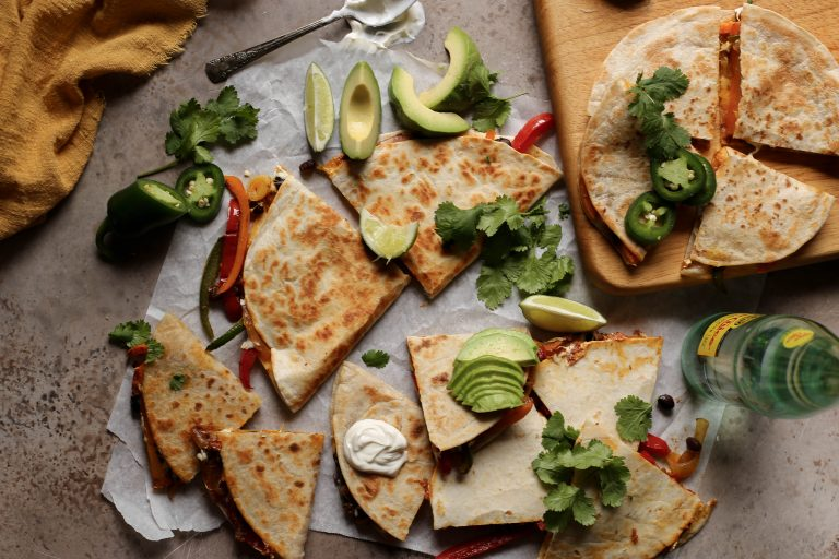 Looking for Flavor-Packed Dinner Ideas? Try These Masala Vegetable Quesadillas