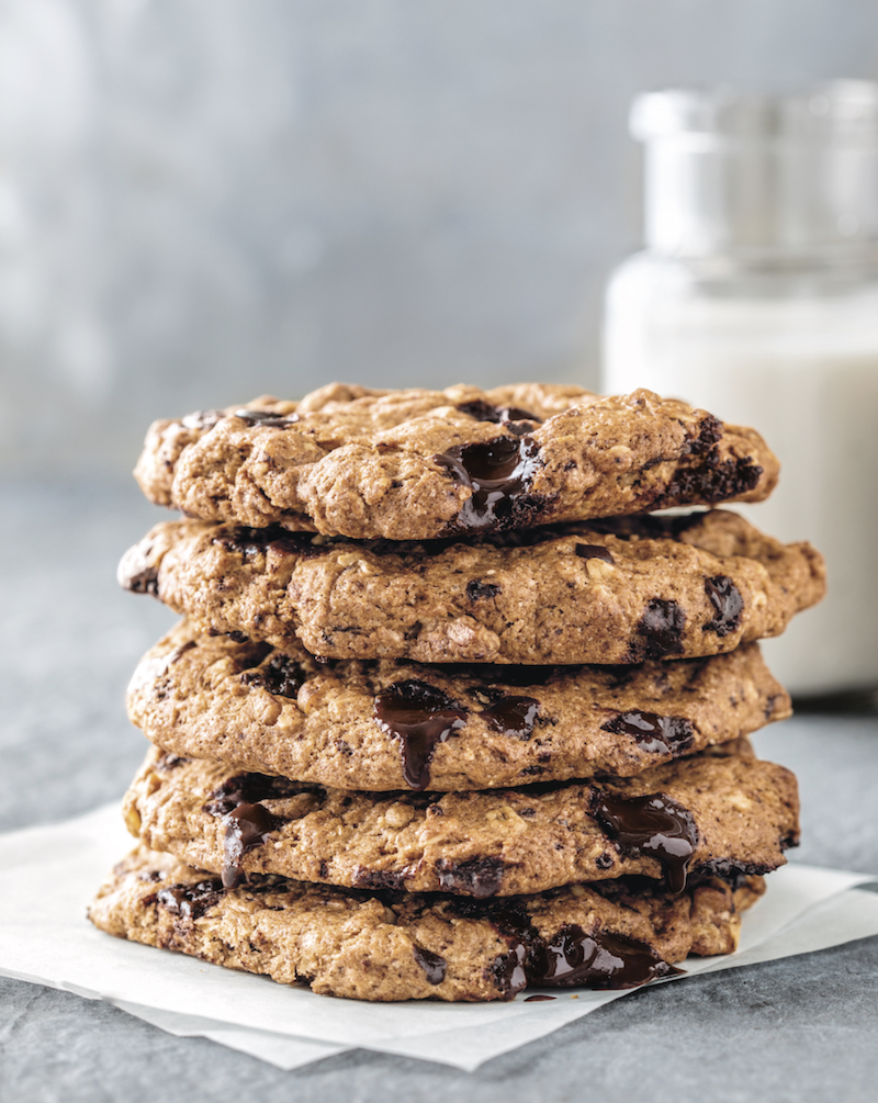 Vegan and Gluten-Free Chocolate Chip Cookies from Café Gratitude