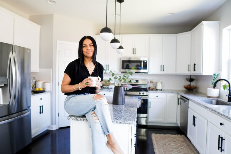 Anna Mae Groves, Stylemakers, kitchen, coffee, morning routine