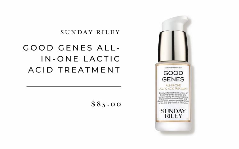 Sonntag Riley Good Genes Milchsäurebehandlung