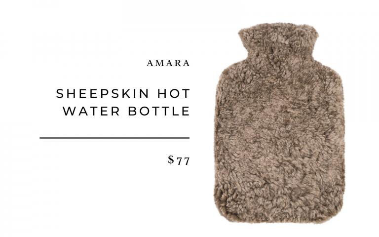 Amara Sheepskin Hot Water Bottle