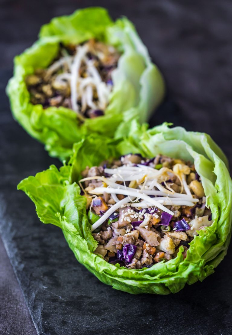vegetable lettuce cups—wholesome patisserie