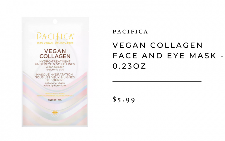 Pacifica Vegan Collagen Face and Eye Mask - 0.23 oz