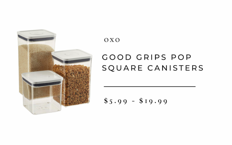 Good Grips Pop Square Canister
