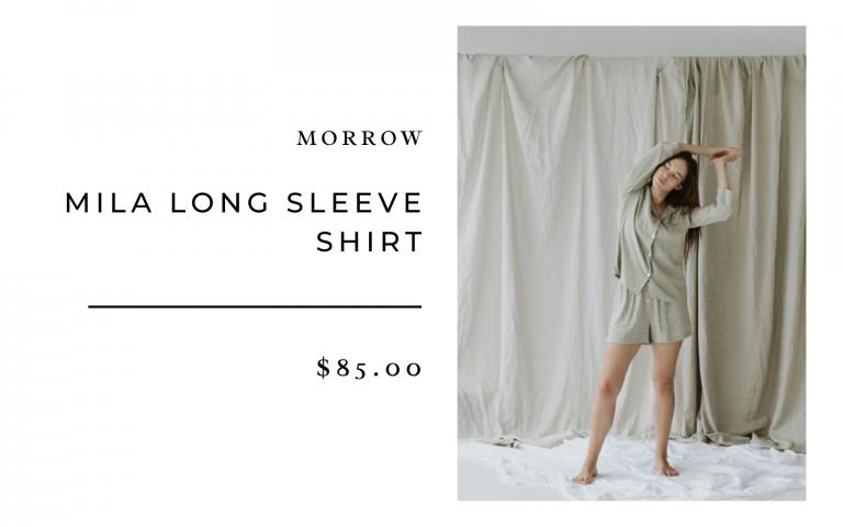 Morrow Mila Long Sleeve Shirt