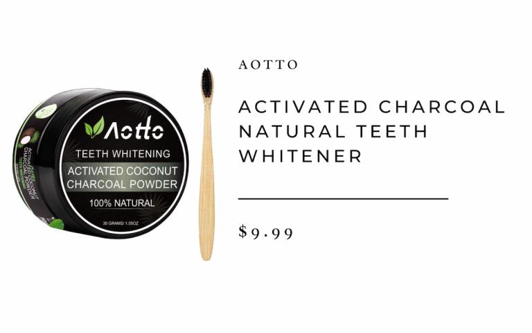 Charcoal Natural Teeth Whitener