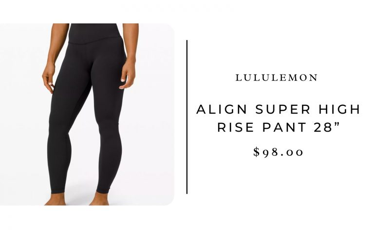 "Lululemon Align Super High Rise Pant 28"""