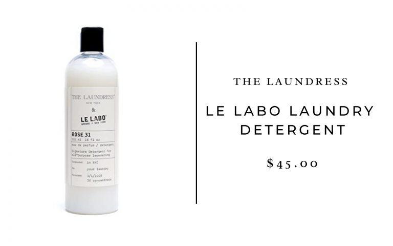 The Laundress x Le Labo Laundry Detergent