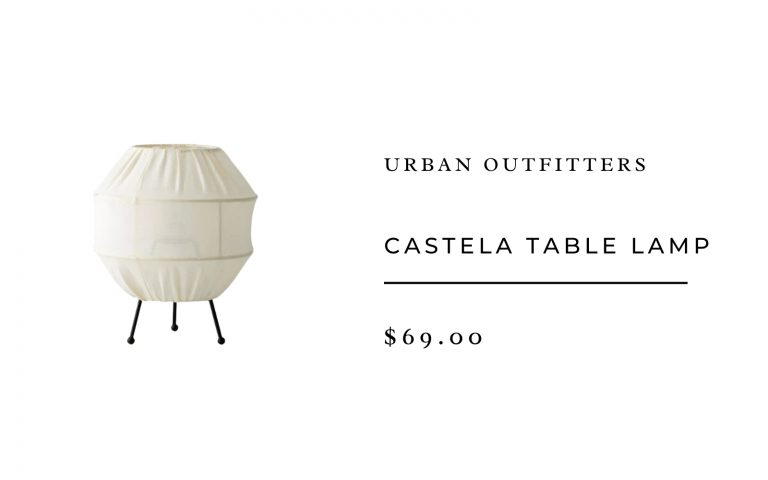 Urban Outfitters Castela Table Lamp