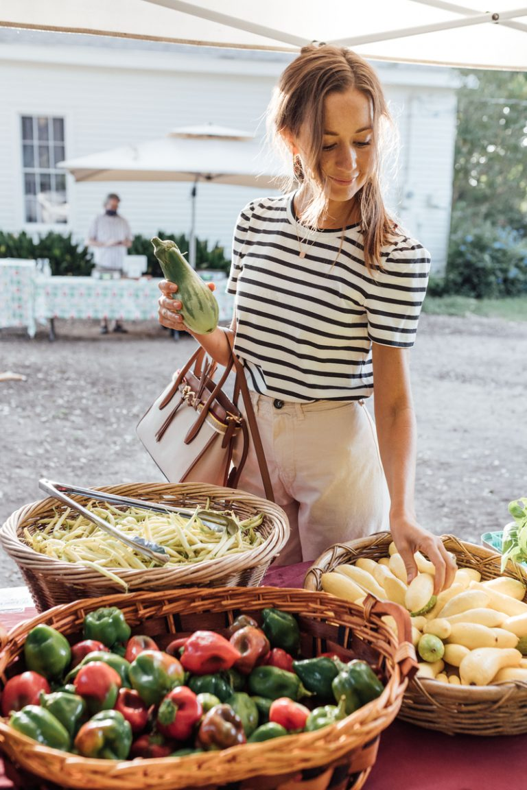 shop the farmers market - fun things to do this summer if you're bored