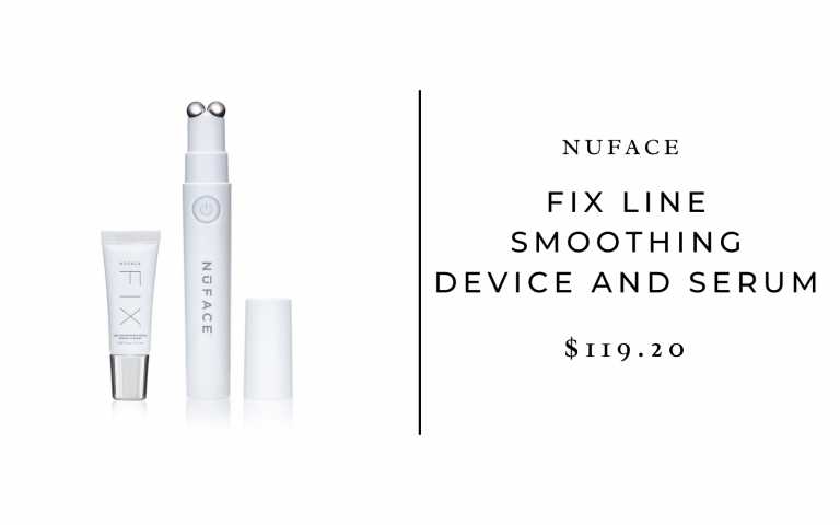 NuFACE FIX Line Smoothing Device and Serum