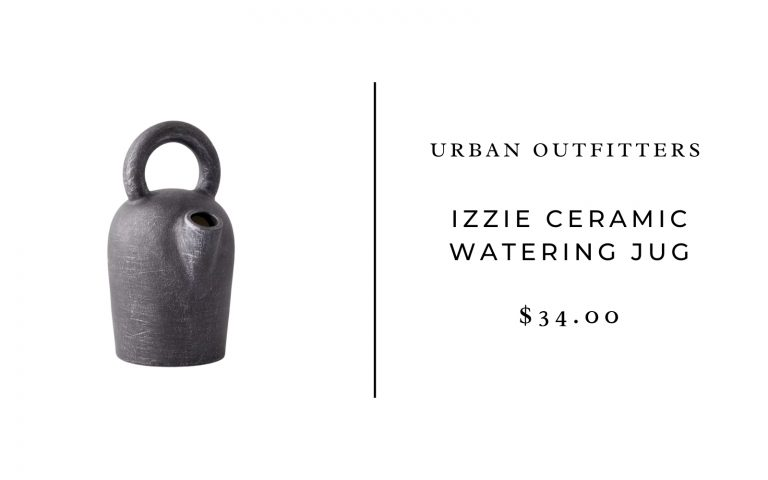 Urban Outfitters Izzie Ceramic Watering Jug