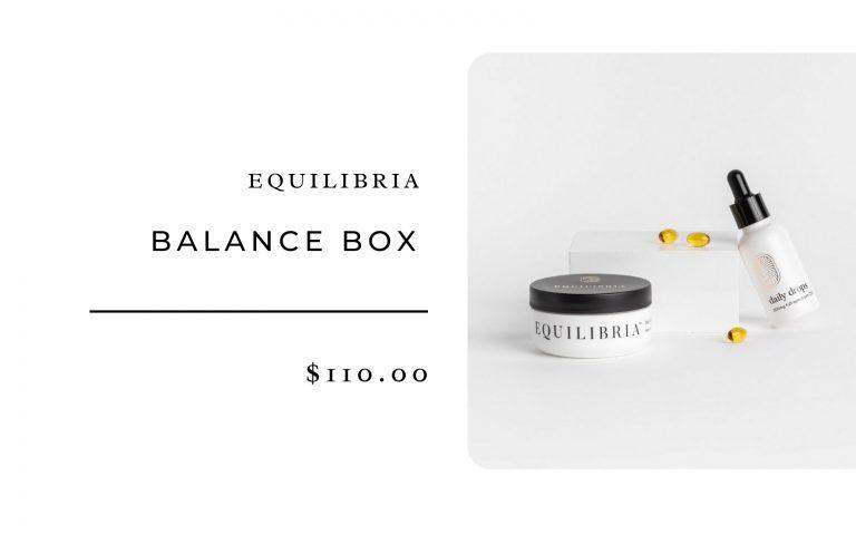 Equilibria Balance Box