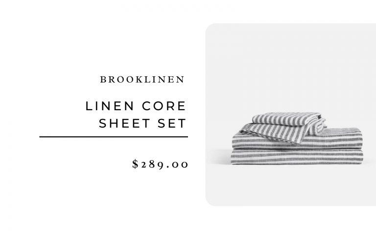 Brooklinen Linen Core Sheet Set