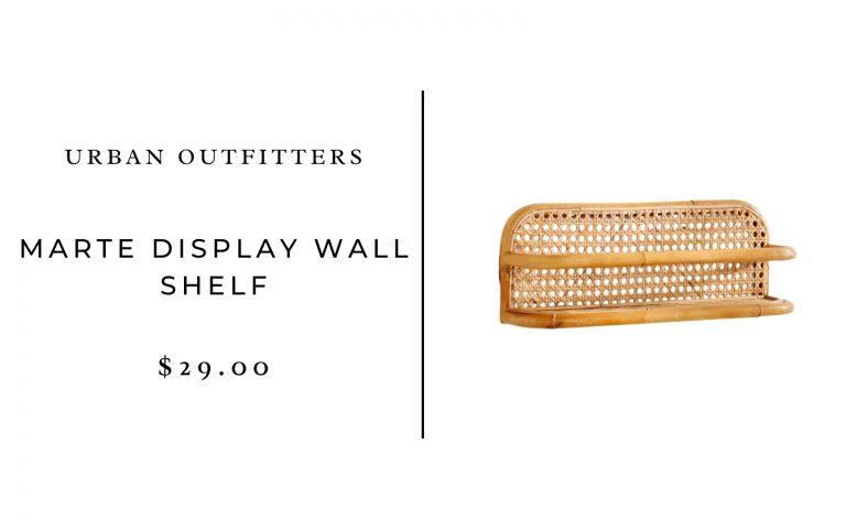 Urban Outfitters Marte Display Wall Shelf