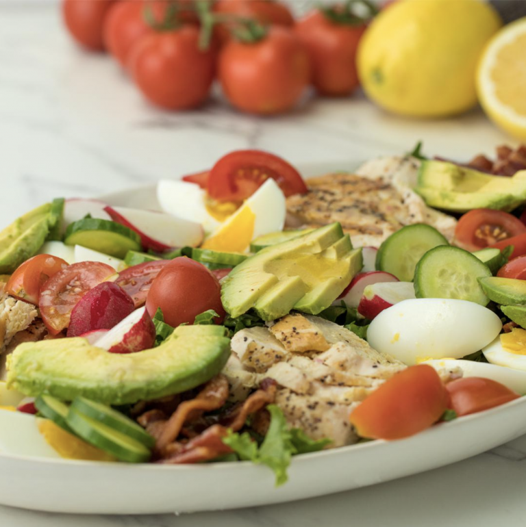 Traditional Chicken Cobb Salad from Tasty