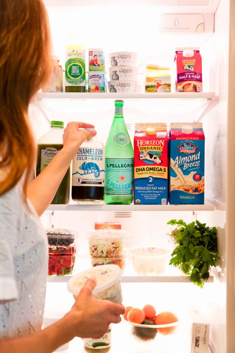 Camille Organized Refrigerator