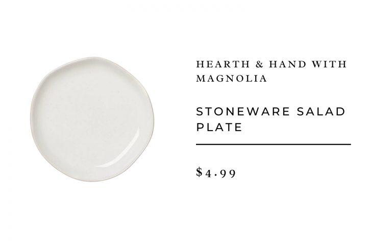 Hearth & Hand with Magnolia Stoneware Salad Plate