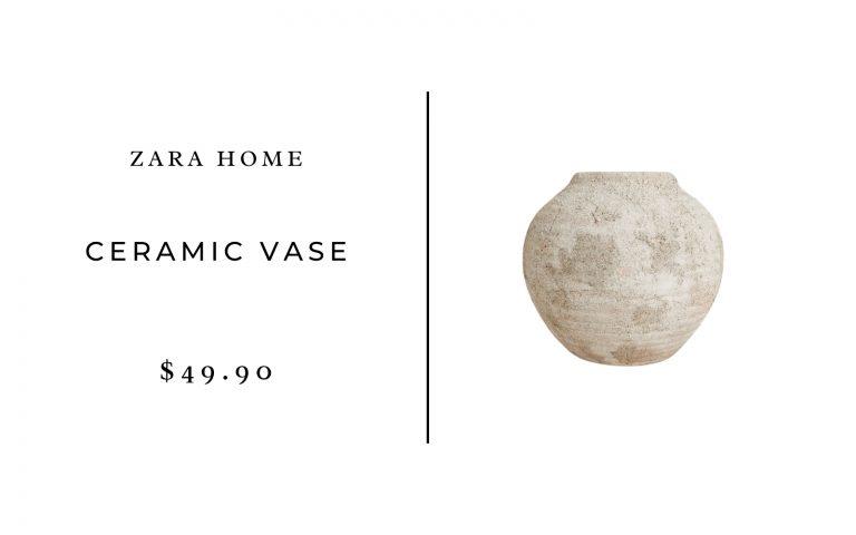 Zara Home Ceramic Vase