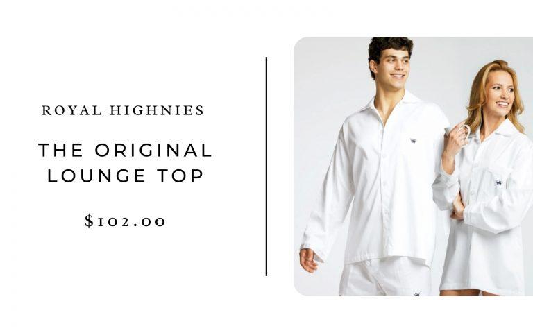 Royal Highnies Lounge Top Pajamas