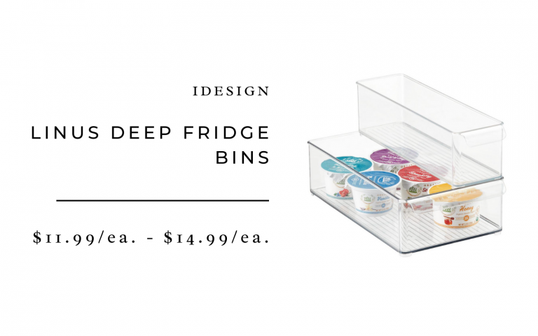 Deep Fridge Bins
