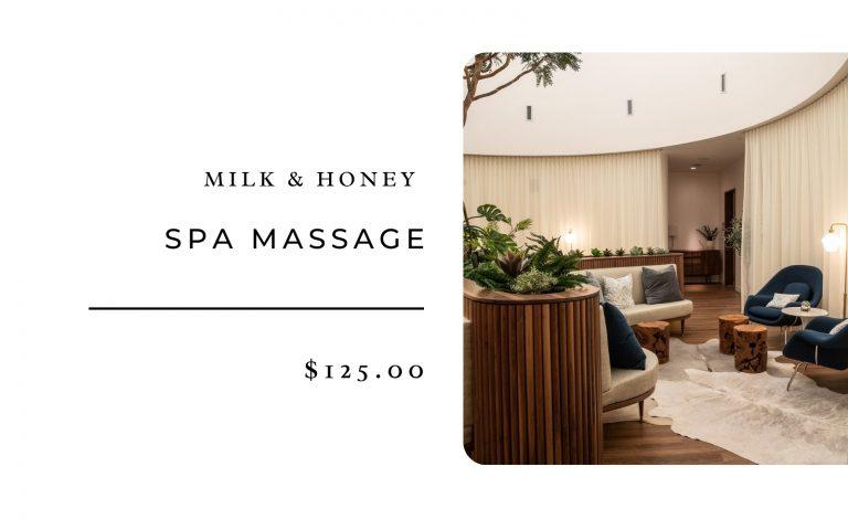 Milk & Honey Spa Massage