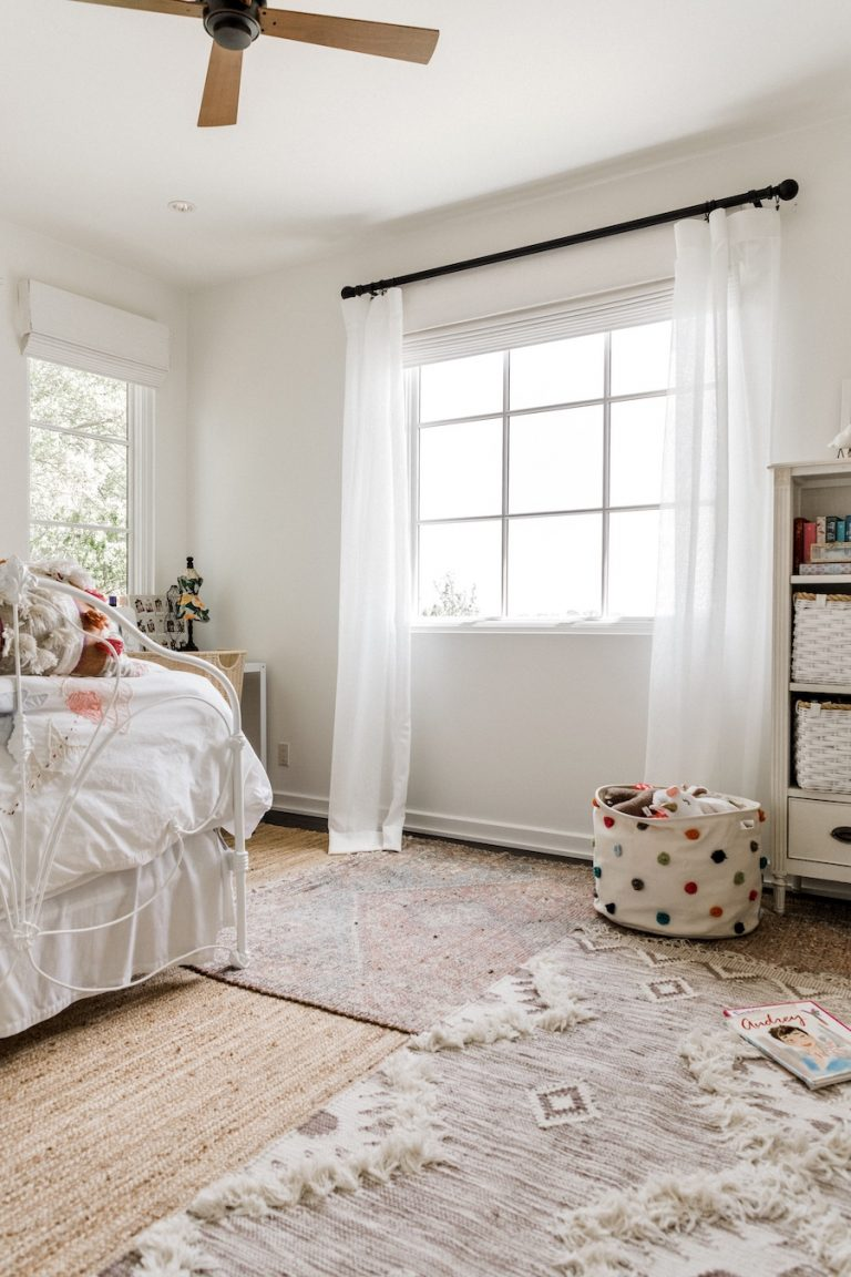 Camille Styles bedroom window treatments-window treatment design tips