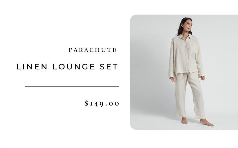 Parachute Linen Lounge Set
