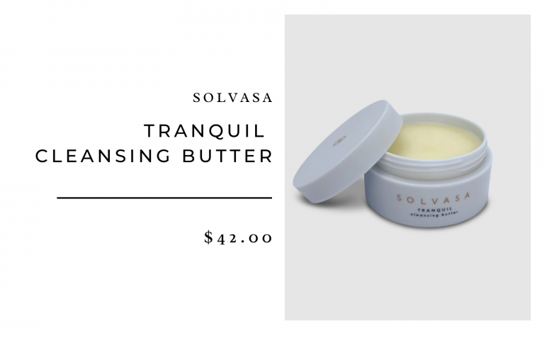 Solvasa Tranquil Cleansing Butter