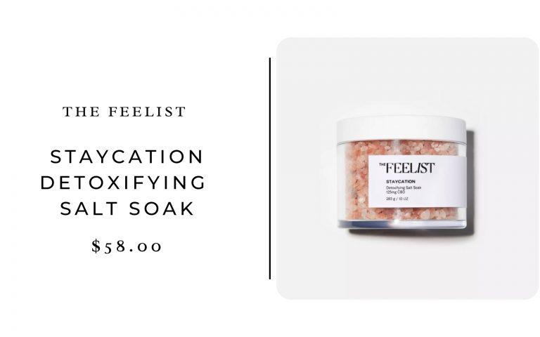 Feelist Staycation Detoxifying Salt Soak