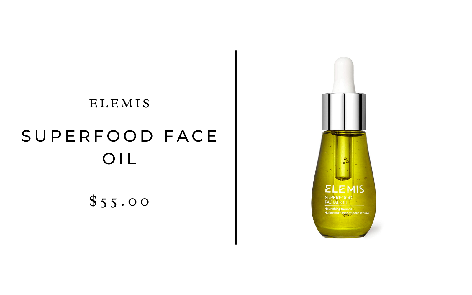 Elemis Superfood Face Oil
