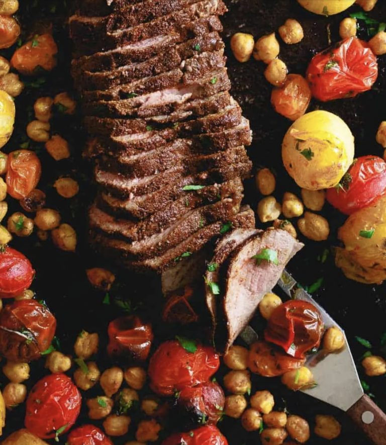 Mediterranean Roasted Lamb — Running to the Kitchen
