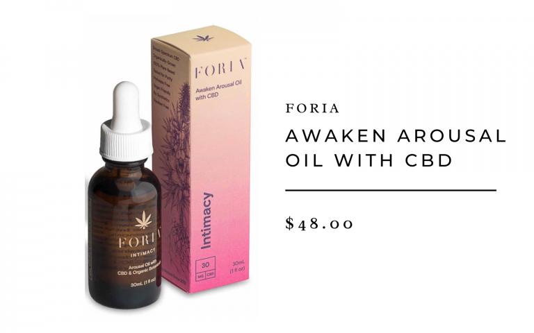 Foria Awaken Arousal Oil With CBD