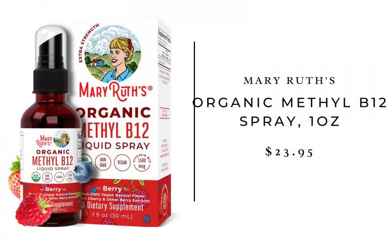 Mary Ruth's Organic Methyl B12 Spray (1oz)