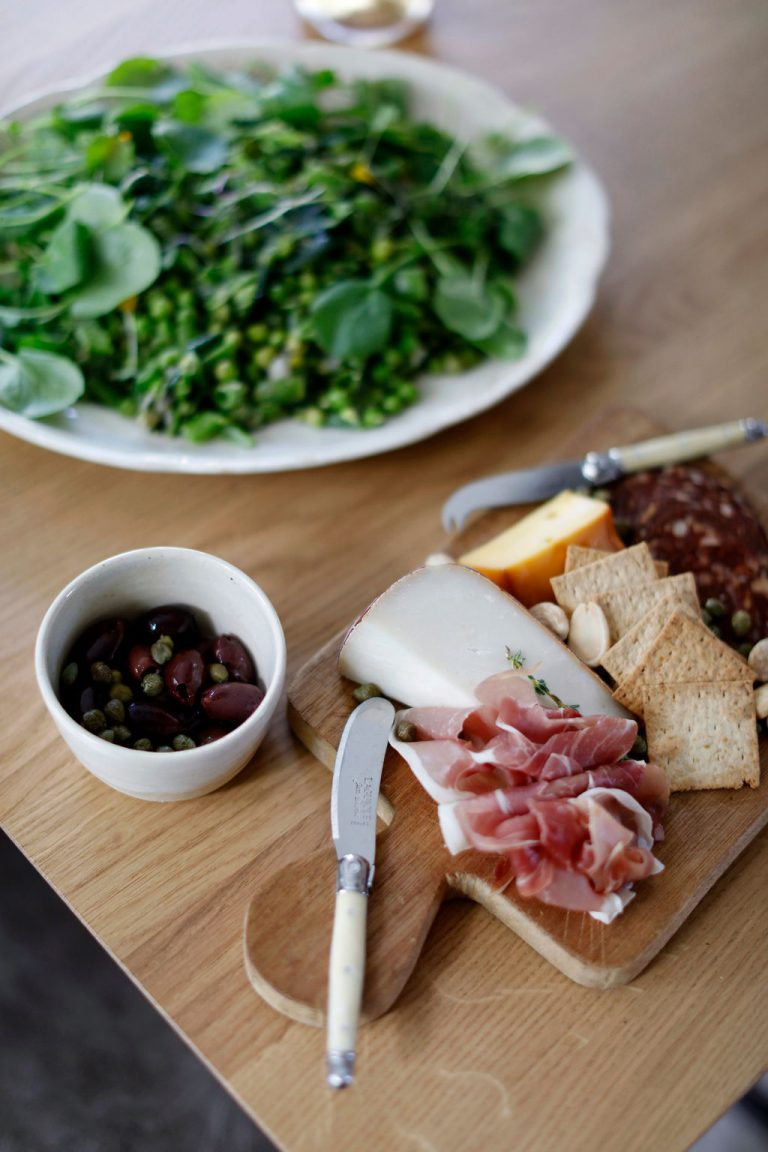 At Home With Kennesha Buycks, Restoration House Blog, appetizers, cheese board