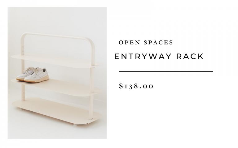 Open Spaces Entryway Rack
