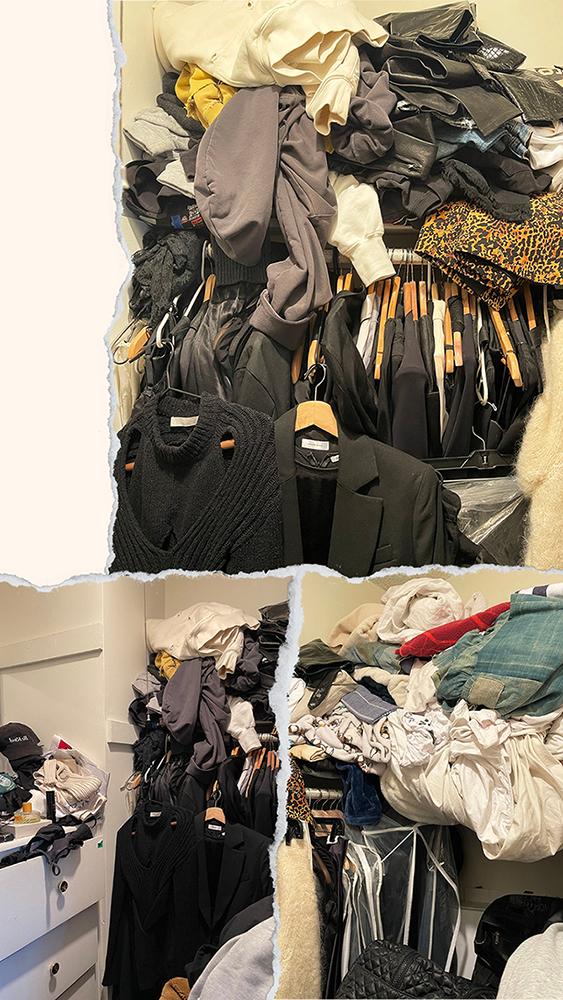 closet makeover - before