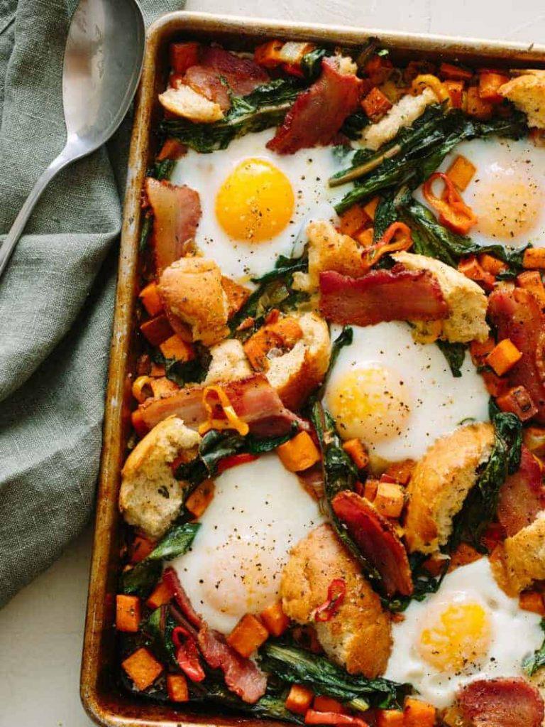 Savory Breakfast Sheet Pan — Spoon Fork Bacon