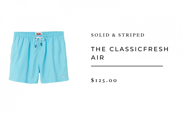 Solid & Striped 'The Classic' Fresh Air Swim Suit