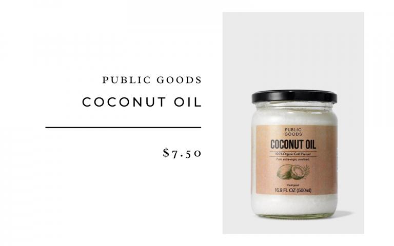 Public Goods Coconut Oil
